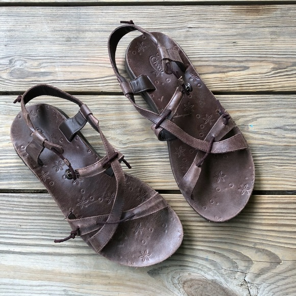83caf57d5dd0 Chaco Shoes - Chaco Local EcoTread Adjustable Leather Sandals